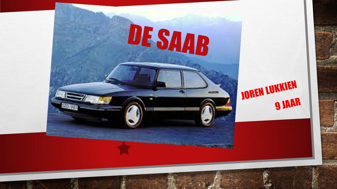 De Saab Joren Lukkien 9 jaar