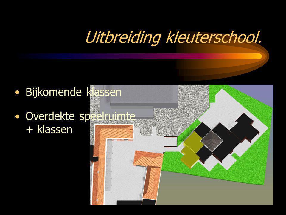 Uitbreiding kleuterschool.