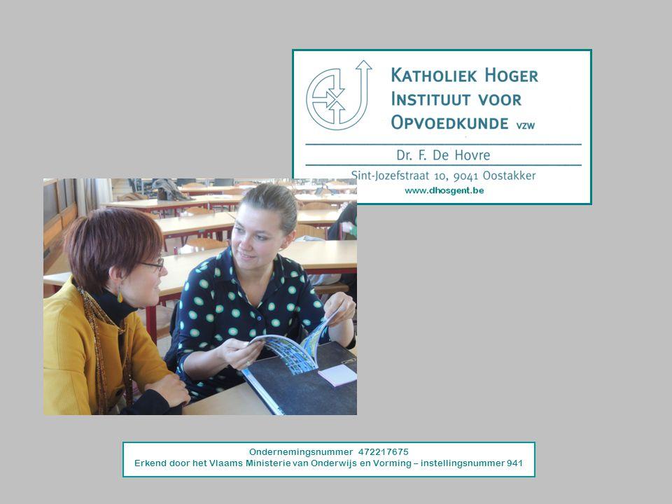 Ondernemingsnummer 472217675 Erkend door het Vlaams Ministerie van Onderwijs en Vorming – instellingsnummer 941.