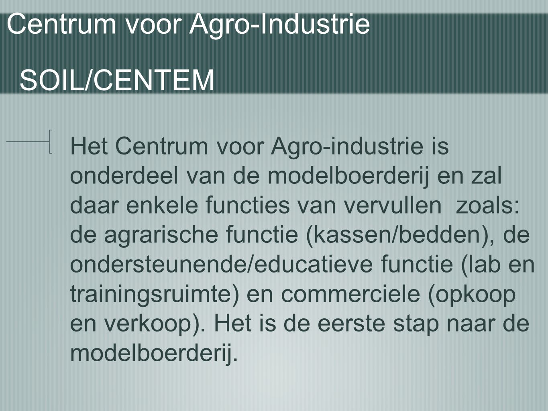 Centrum voor Agro-Industrie SOIL/CENTEM