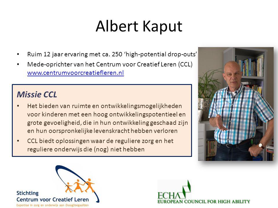 Albert Kaput Missie CCL