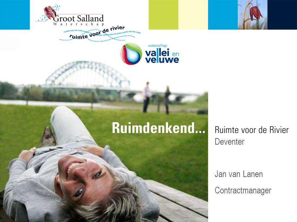 P en beamer Deventer Jan van Lanen Contractmanager Algemeen: Welkom