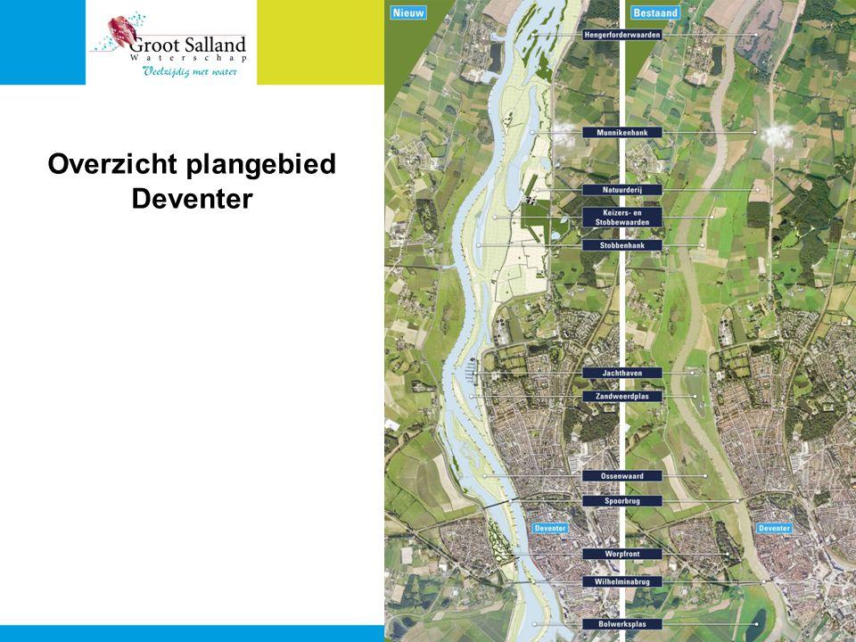 Overzicht plangebied Deventer