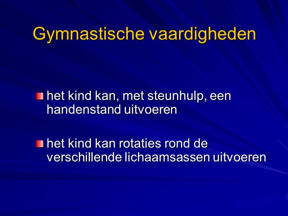 Gymnastische vaardigheden
