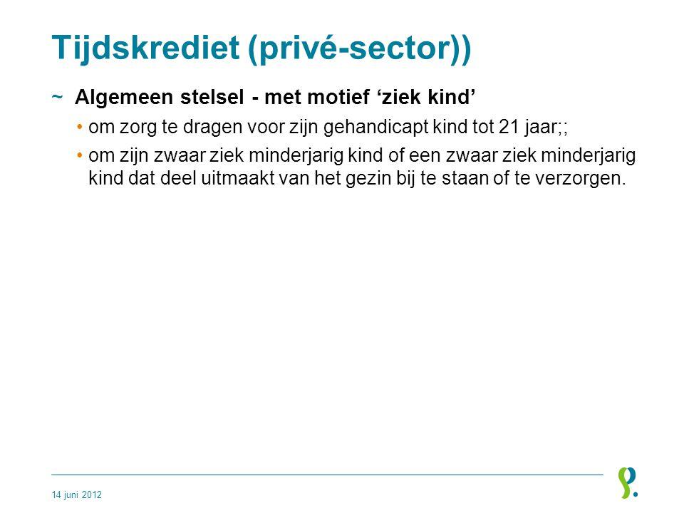 Tijdskrediet (privé-sector))