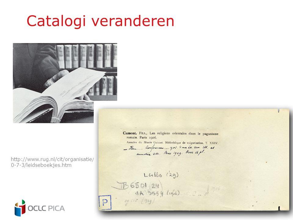 Catalogi veranderen http://www.rug.nl/cit/organisatie/pictogram/archief/2000-7-3/leidseboekjes.htm