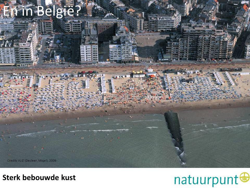 En in België Sterk bebouwde kust Bebouwde kust