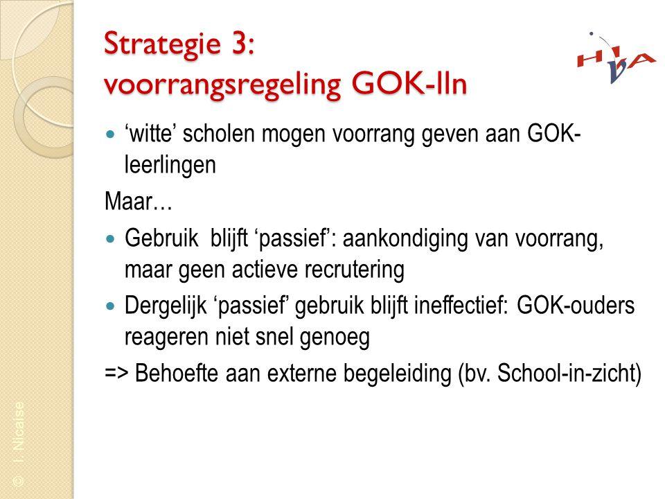 Strategie 3: voorrangsregeling GOK-lln
