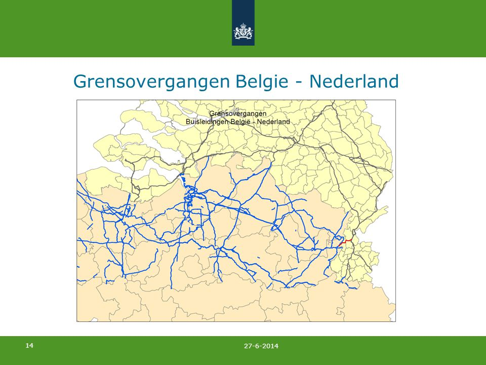 Grensovergangen Belgie - Nederland