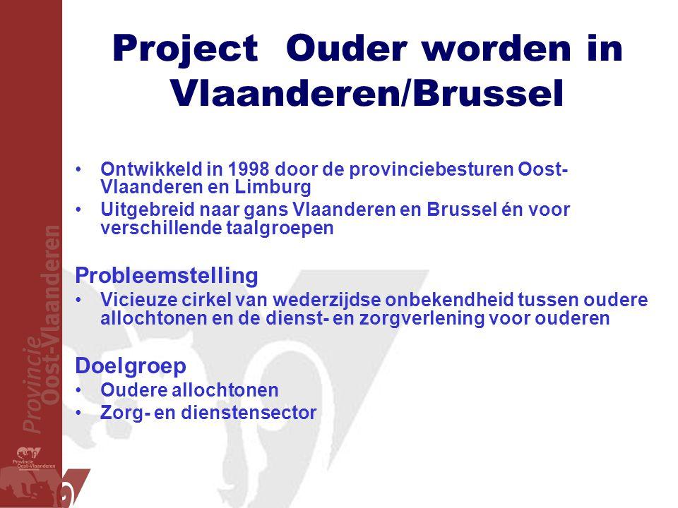 Project Ouder worden in Vlaanderen/Brussel