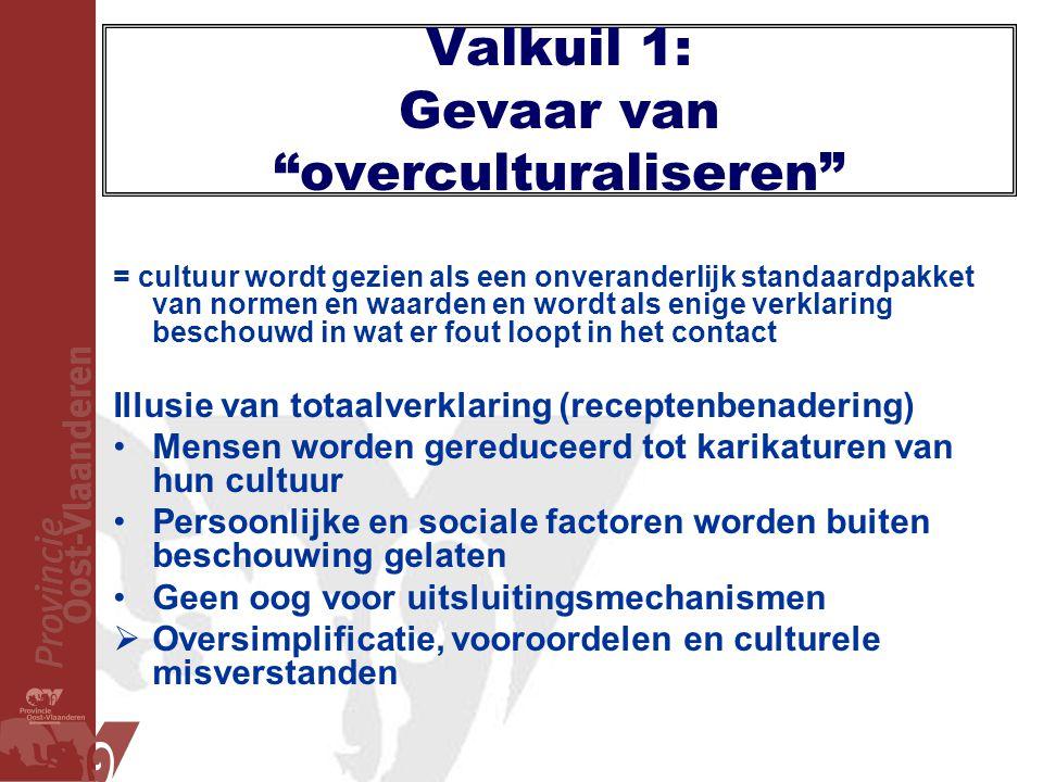 Valkuil 1: Gevaar van overculturaliseren