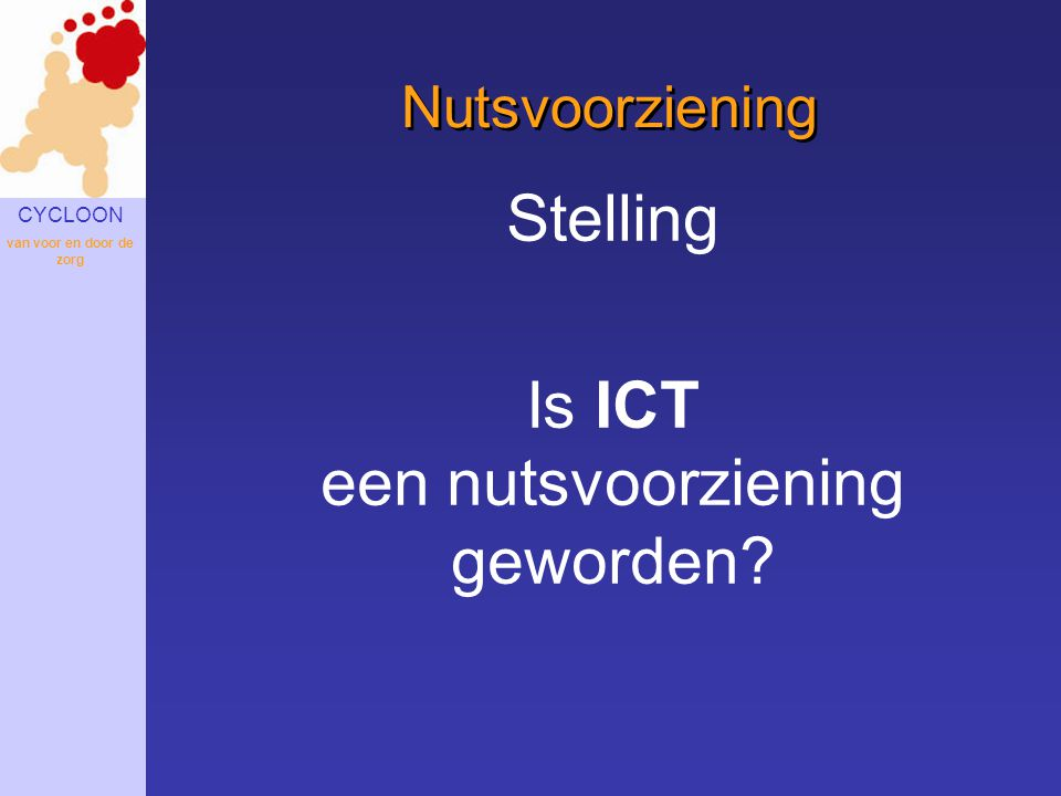 Is ICT een nutsvoorziening geworden