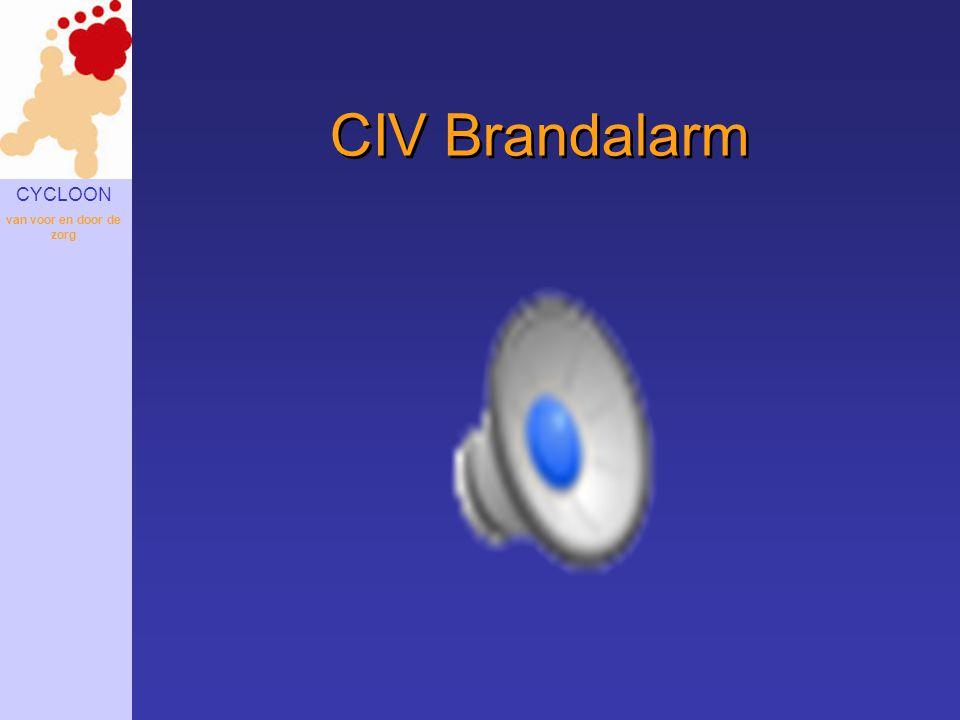 CIV Brandalarm Uitval ICT