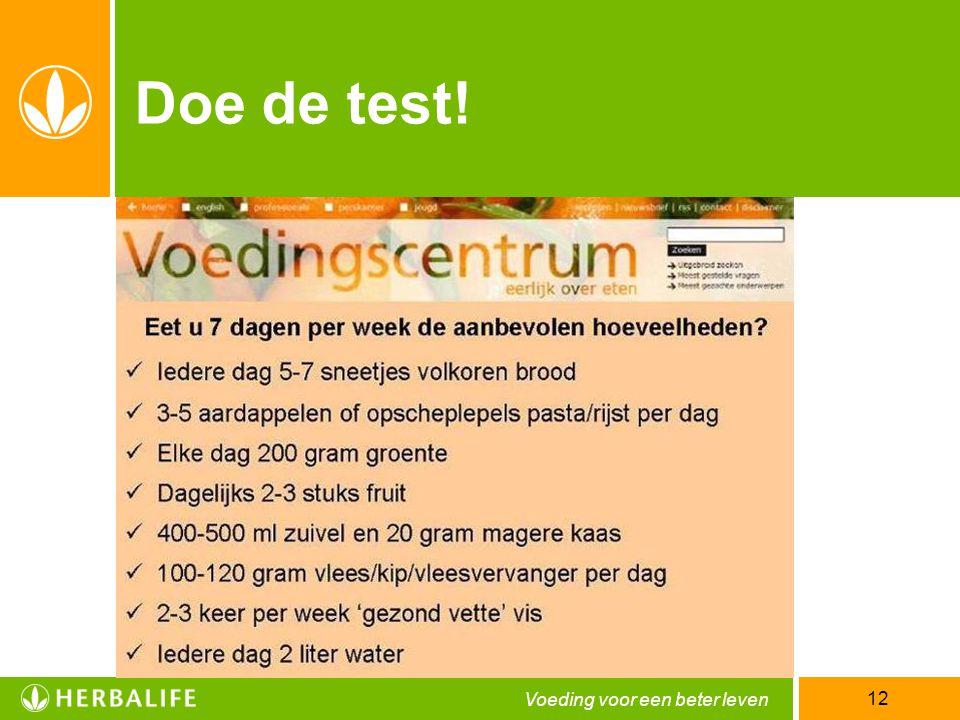 Doe de test! 12