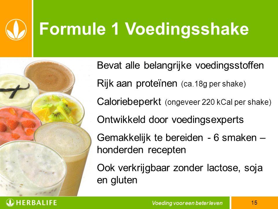 Formule 1 Voedingsshake