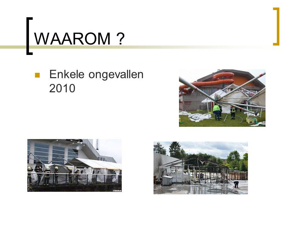 WAAROM Enkele ongevallen 2010