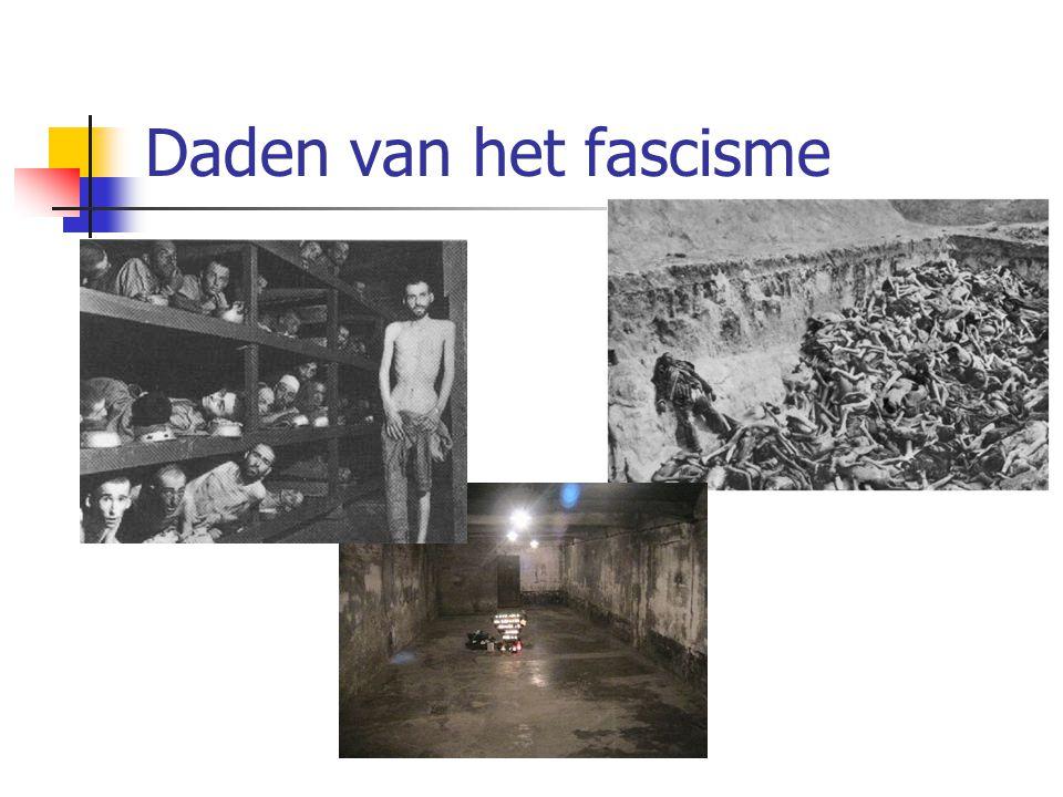 Daden van het fascisme