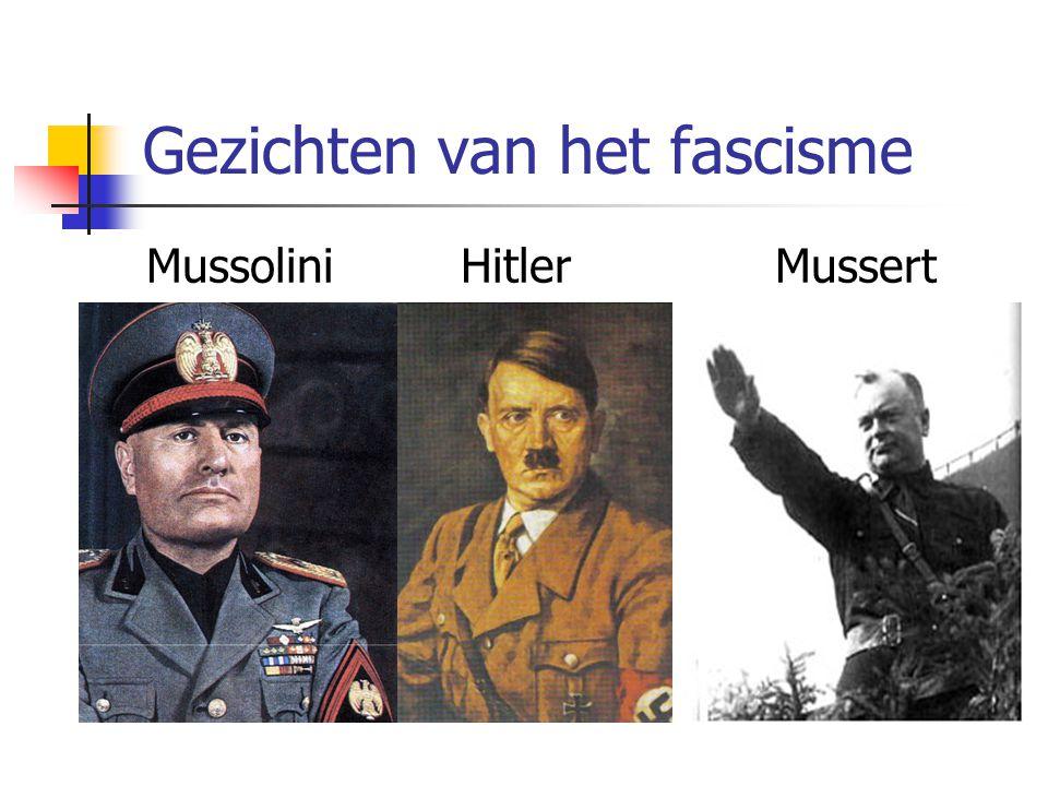 Gezichten van het fascisme