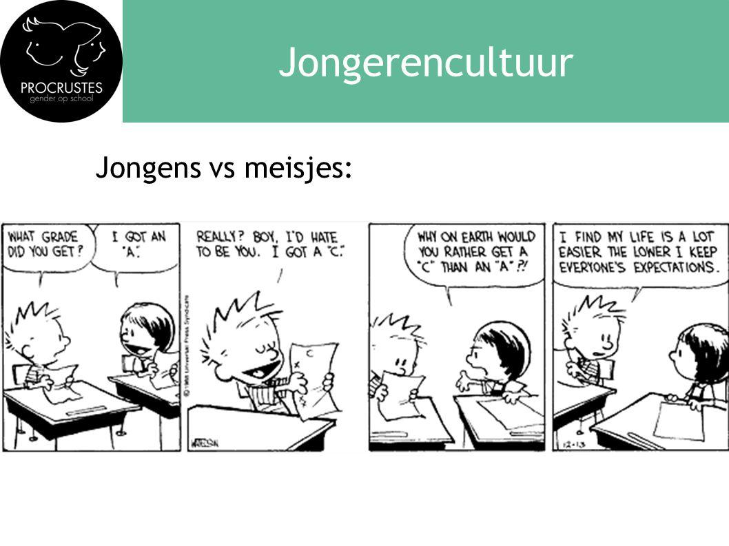 Jongerencultuur Jongens vs meisjes: