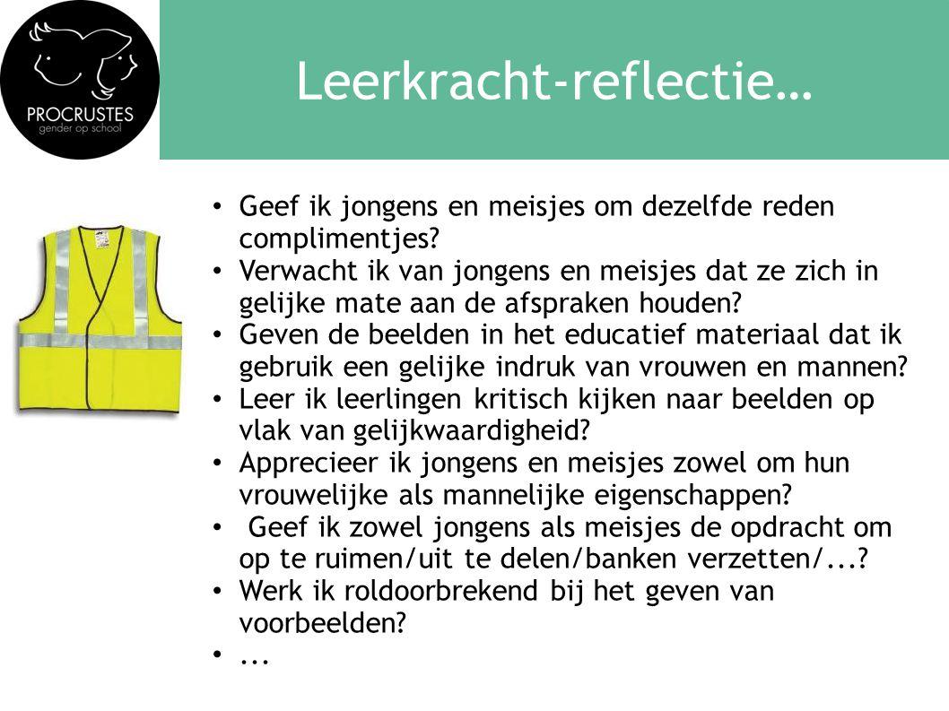 Leerkracht-reflectie…