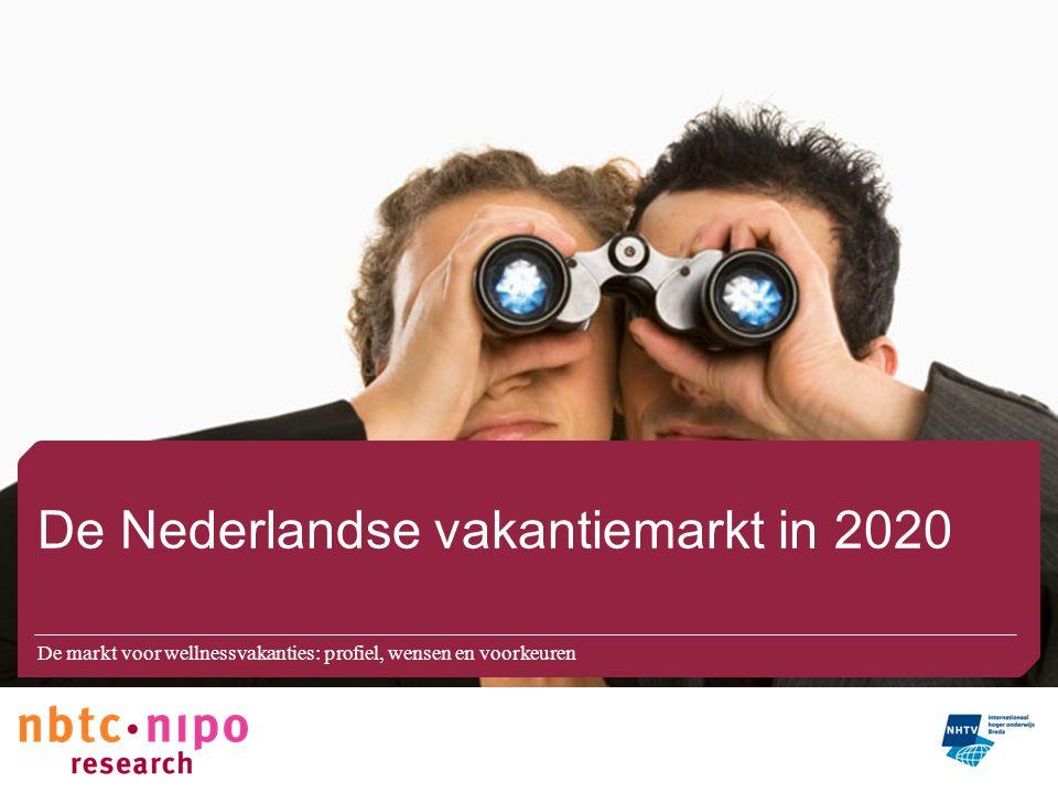 De Nederlandse vakantiemarkt in 2020
