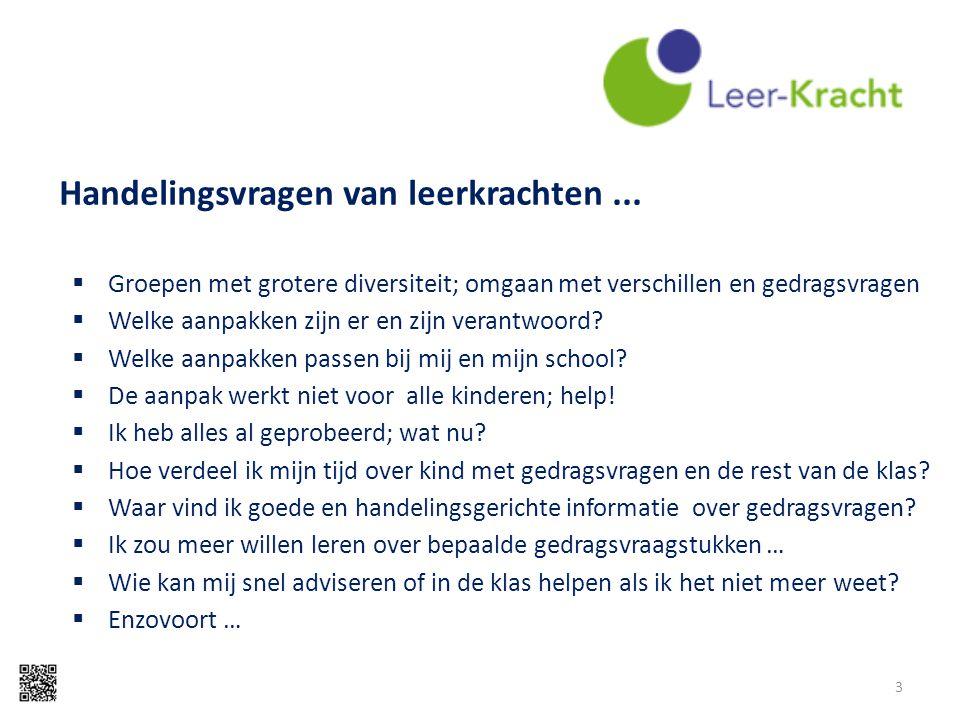 Handelingsvragen van leerkrachten ...