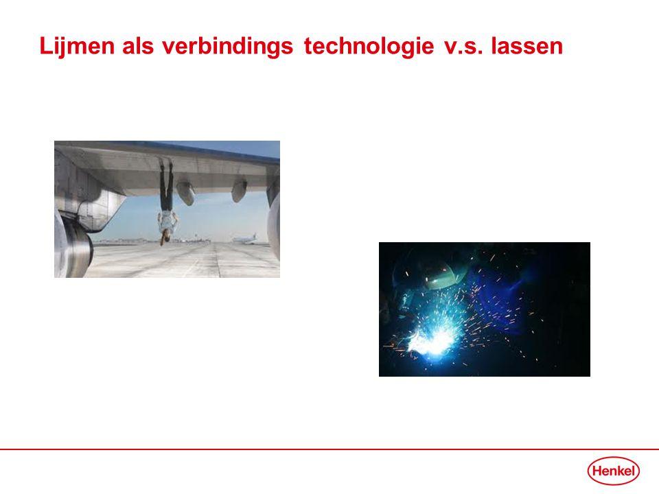 Lijmen als verbindings technologie v.s. lassen