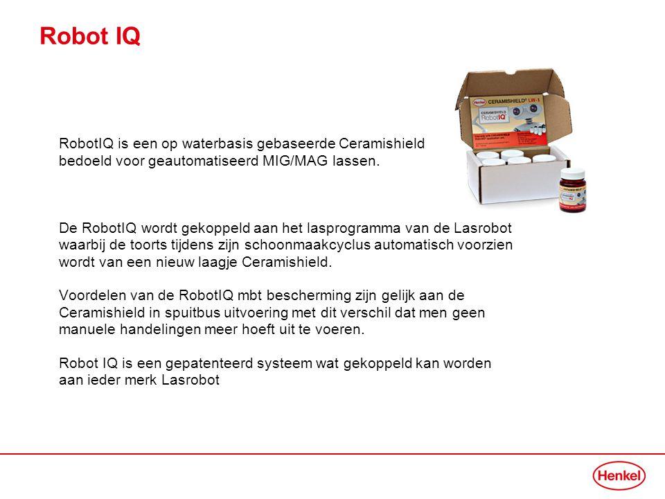 Robot IQ RobotIQ is een op waterbasis gebaseerde Ceramishield