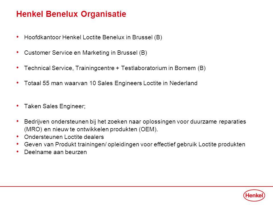 Henkel Benelux Organisatie