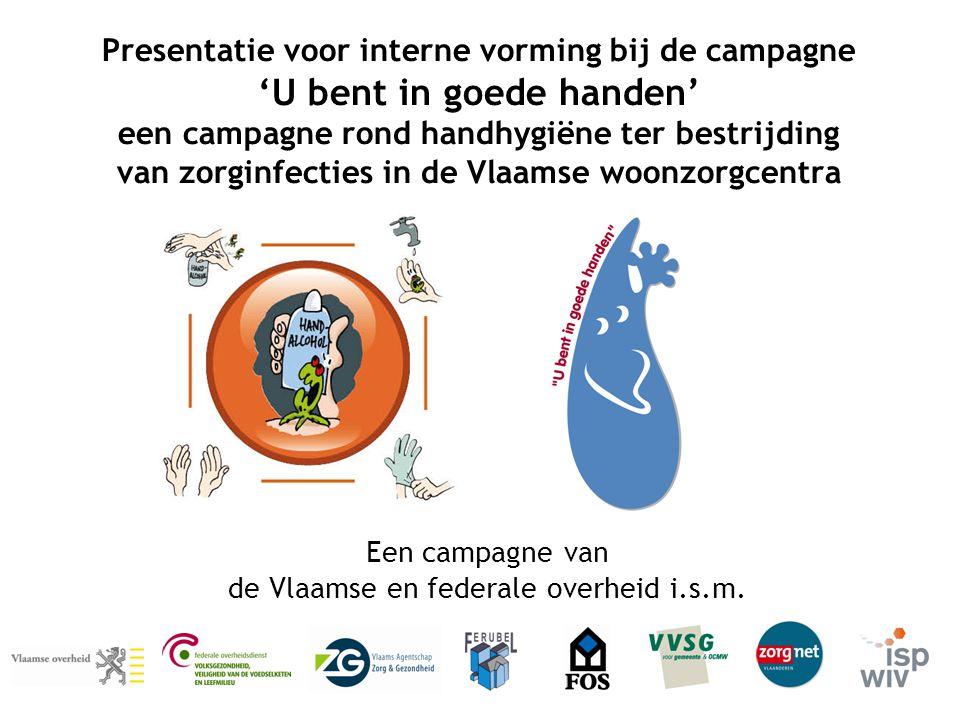 Een campagne van de Vlaamse en federale overheid i.s.m.