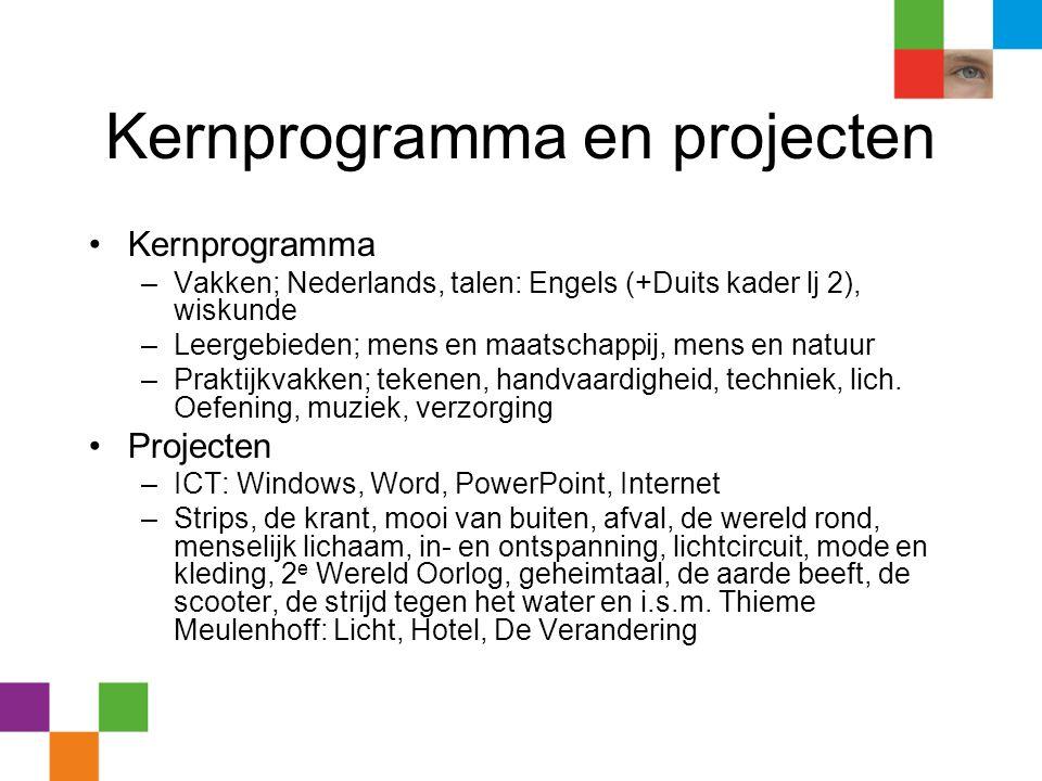 Kernprogramma en projecten