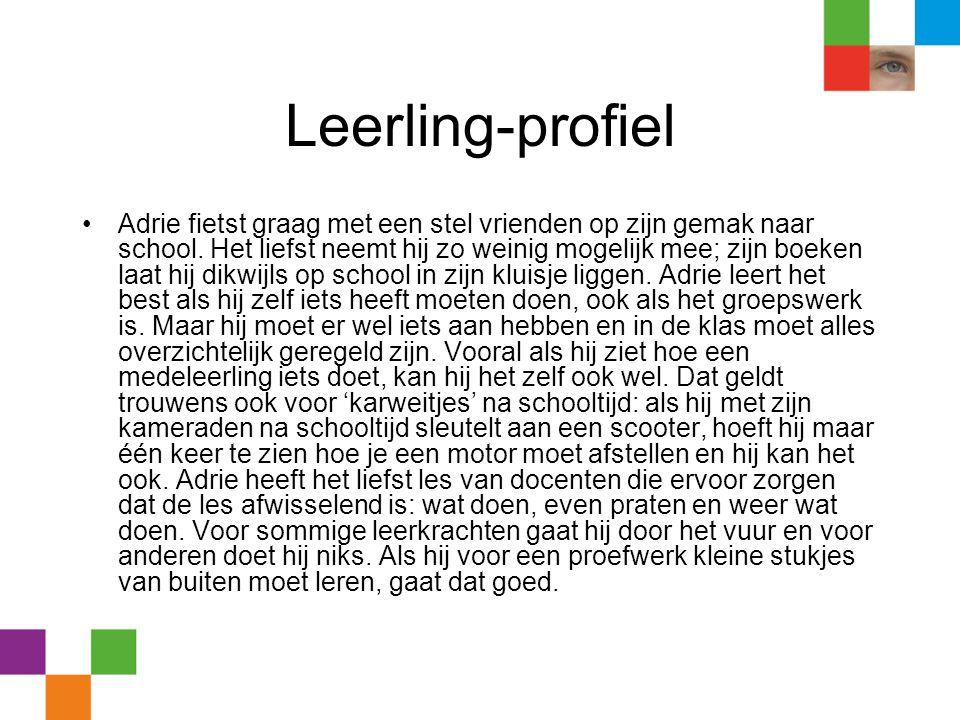Leerling-profiel