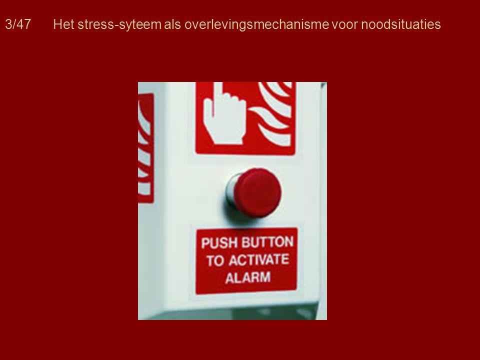 3/47 Het stress-syteem als overlevingsmechanisme voor noodsituaties