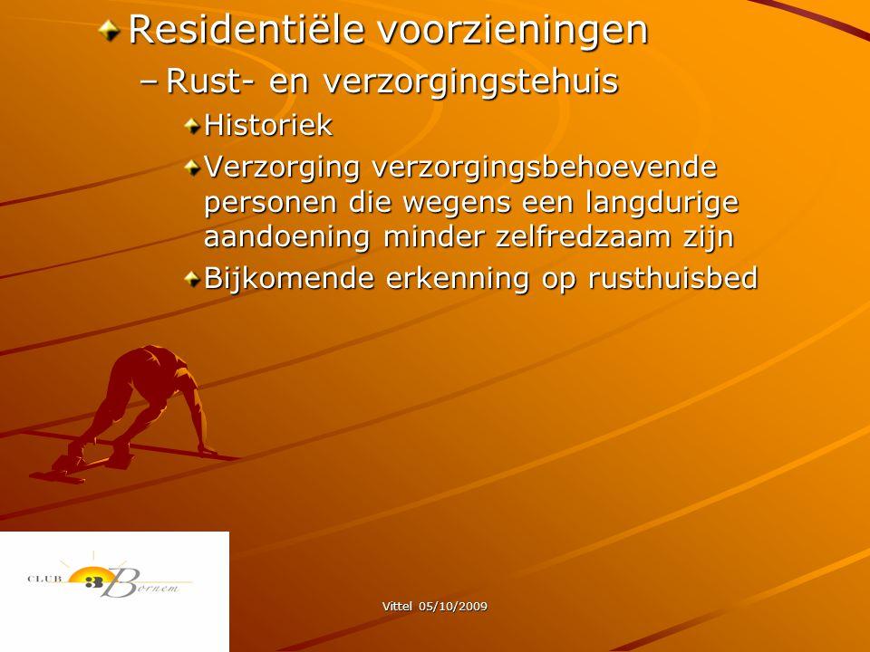 Residentiële voorzieningen