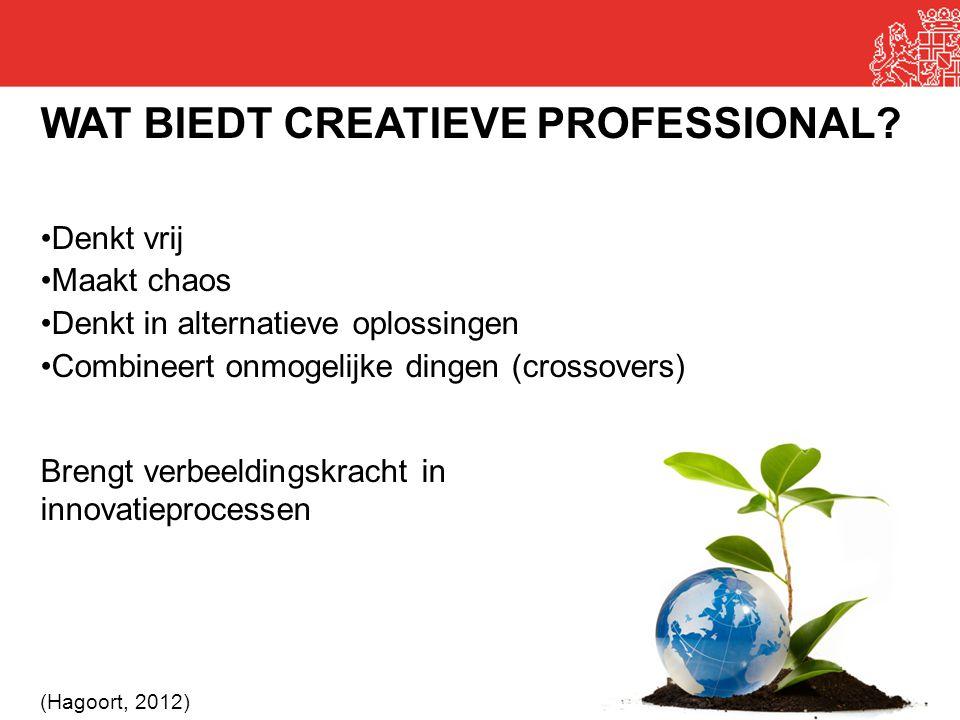 WAT BIEDT CREATIEVE PROFESSIONAL