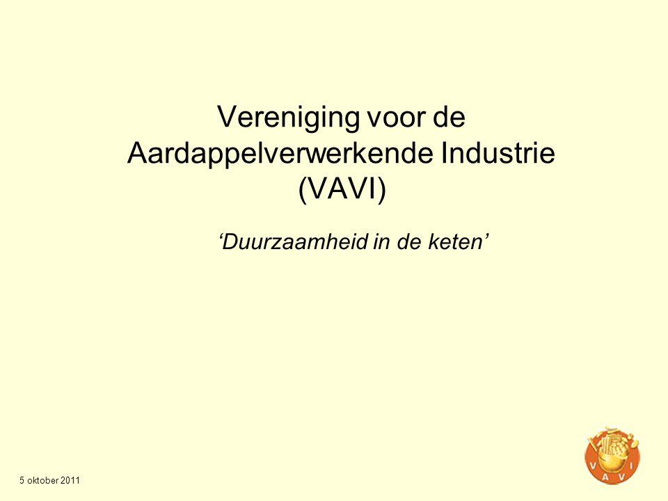 Vereniging voor de Aardappelverwerkende Industrie (VAVI)