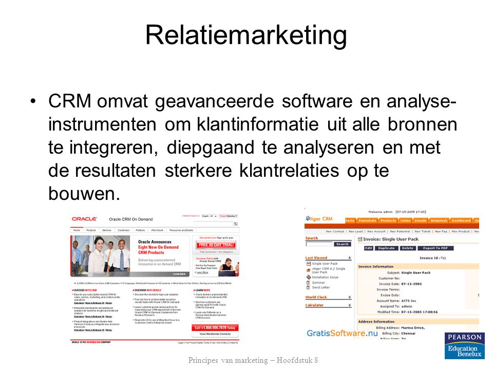 Principes van marketing – Hoofdstuk 8