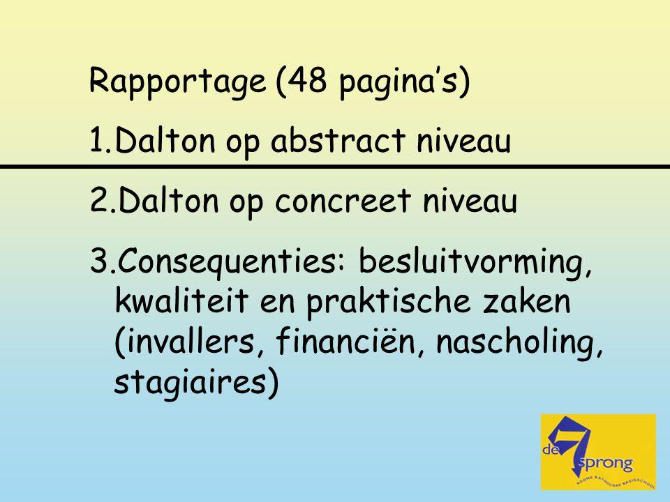Rapportage (48 pagina's)