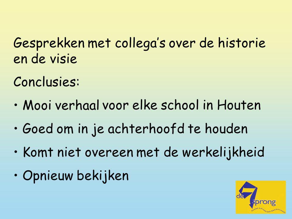 voor elke school in Houten