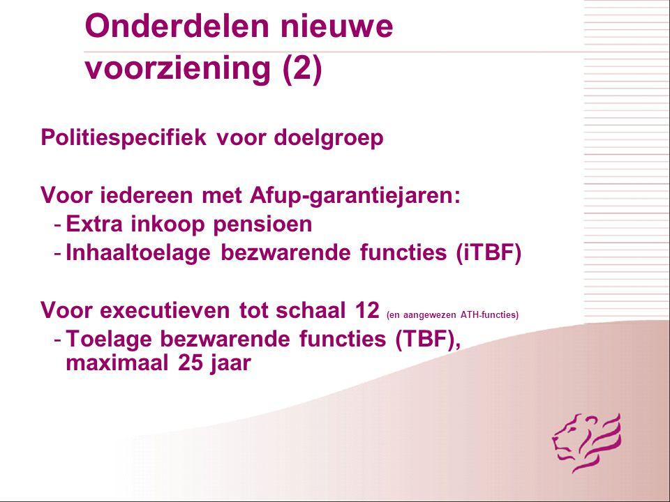 Onderdelen nieuwe voorziening (2)