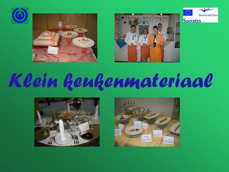 Klein keukenmateriaal