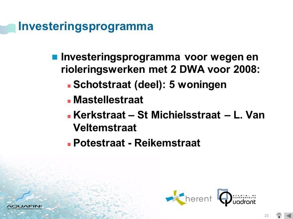 Investeringsprogramma