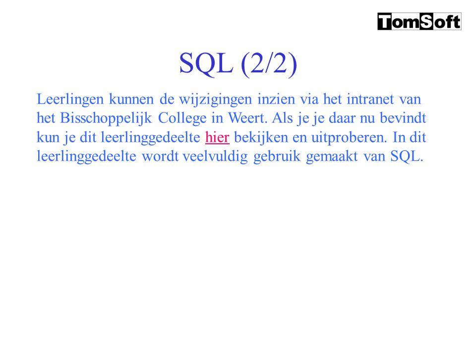SQL (2/2)