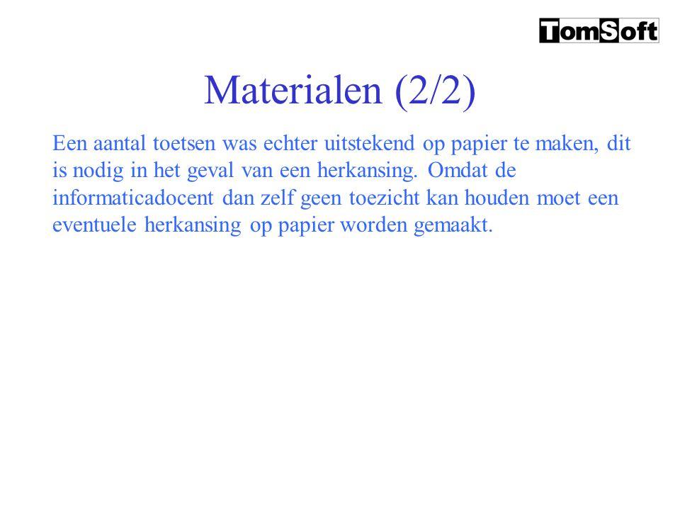 Materialen (2/2)