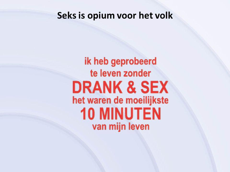 Seks is opium voor het volk