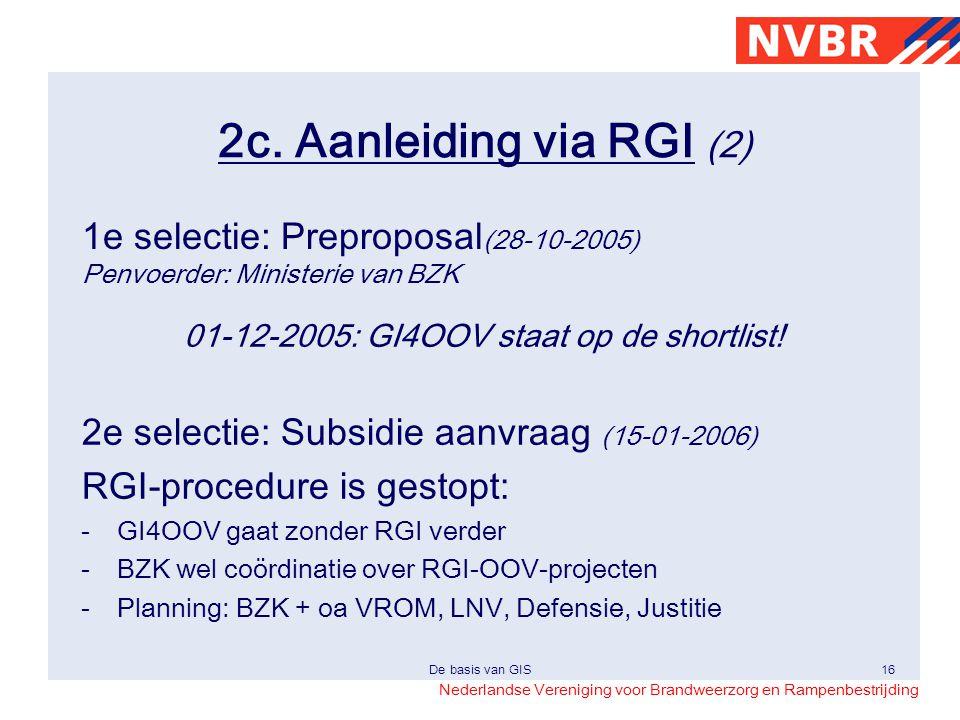 01-12-2005: GI4OOV staat op de shortlist!