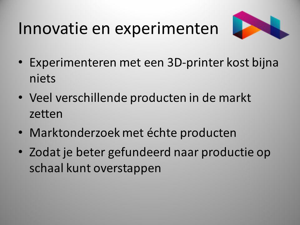 Innovatie en experimenten