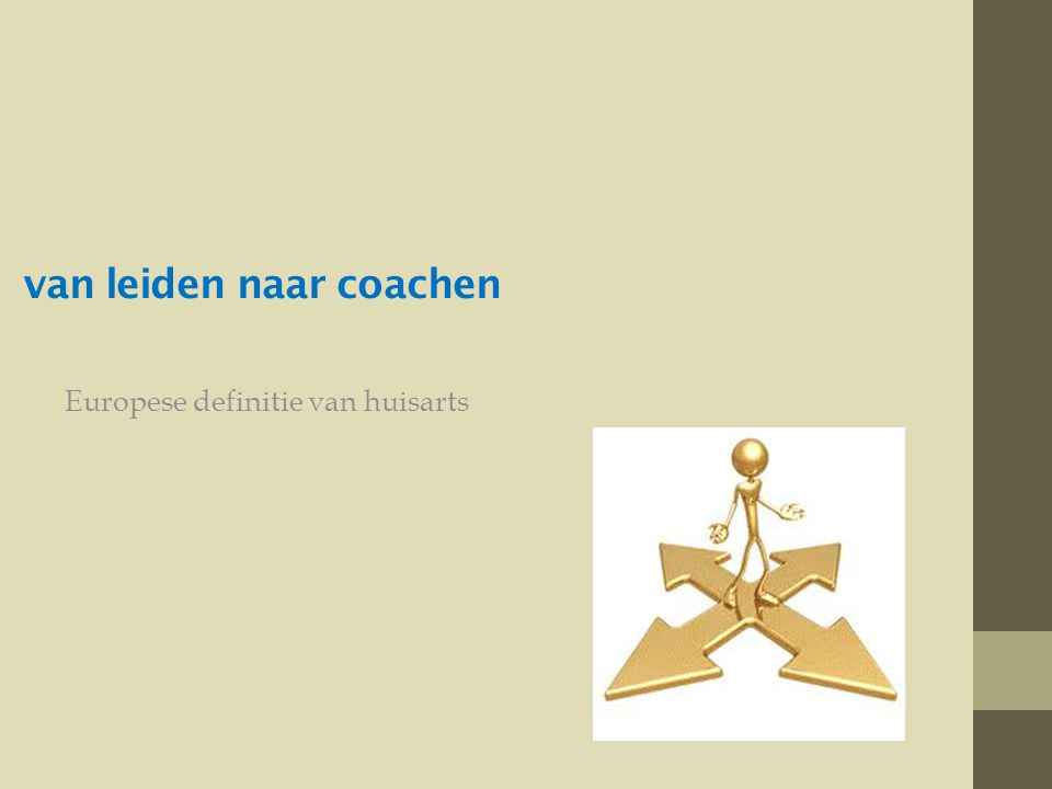 van leiden naar coachen