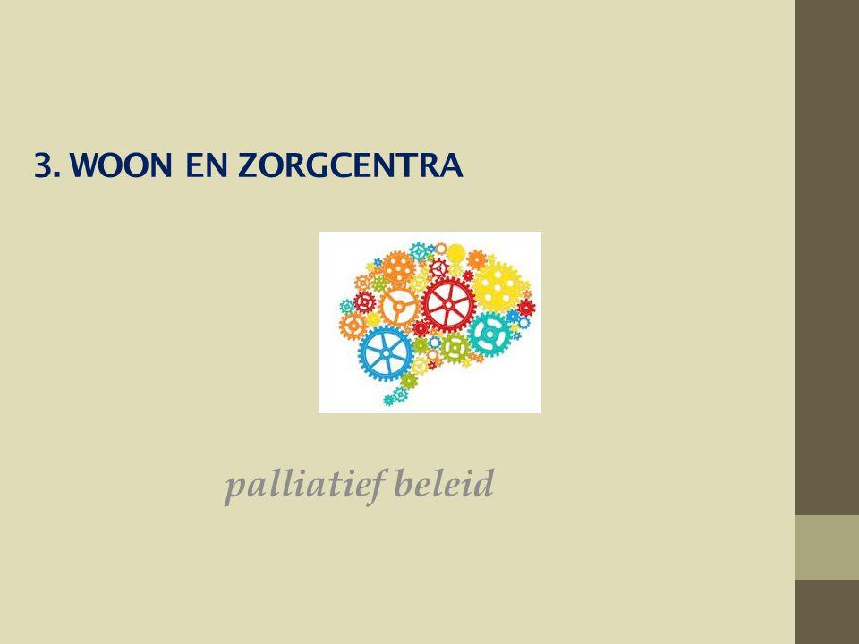 3. Woon en zorgcentra palliatief beleid