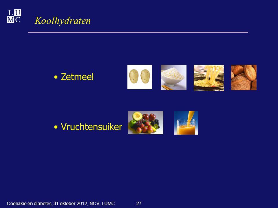 Koolhydraten Zetmeel Vruchtensuiker